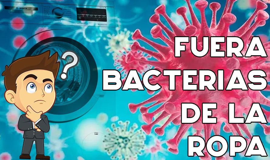 Elimina el 99.9% de las bacterias en tu lavadora